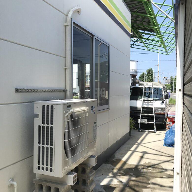 高松市 S社様 室外機設置