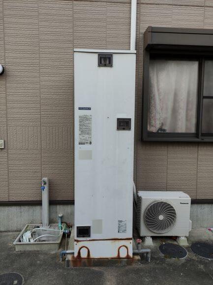 工事前 温水器 三菱 SRT-4668CFU-BL